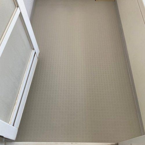 浴室床シート張り替え工事